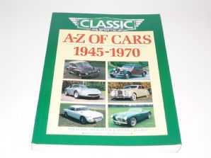 A-Z of Cars 1945 - 1970 (Sedgewick & Gillies 1993)